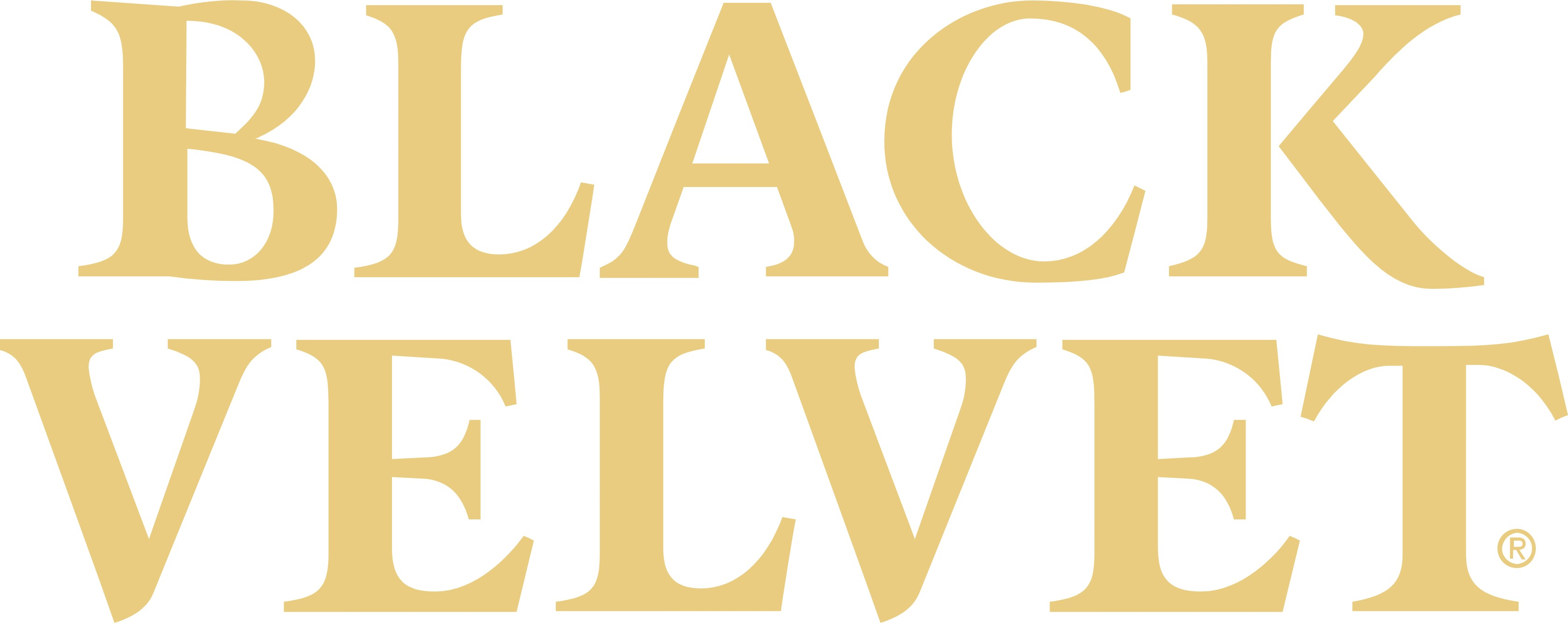 Black Velvet logo