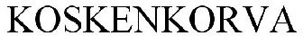 Koskenkorva logo